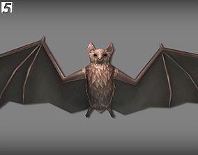 Animated Bats Pack 3D asset