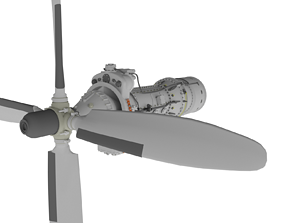 3D Turboprop engine Ai-24