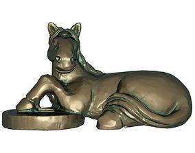 Fortune horse 3D print model
