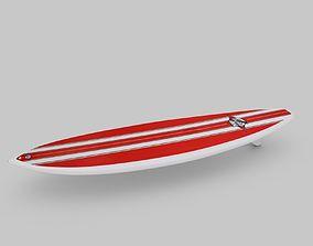 Surfboard 02 3D model