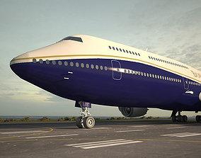 3D model Boeing 747-8I Business Jets