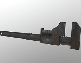 Wrench 3D asset