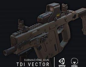 3D asset realtime TDI Vector