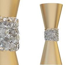 3D model Sconce Fine Art Lamps Gold