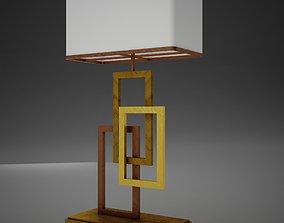 3D asset HD Clasical Retro Lamp