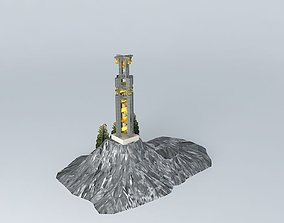 3D model Bell Tower 1 7