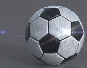 SOCCER BALL team 3D asset realtime