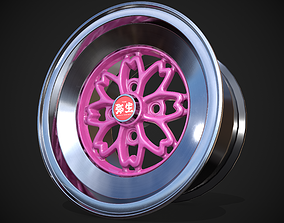 Techno Racing Hayashi Yayoi 3D model