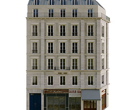 3D model Paris Facade 5