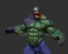 3D printable model hulk venom