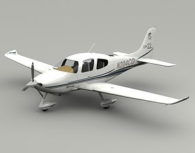 3D model Cirrus SR22 Airplane