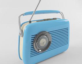 3D model Retro Vintage Radio