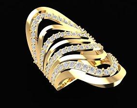3D print model 1675 Diamond Ring