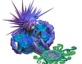 3D model Seabed - Dragon Emperor throne