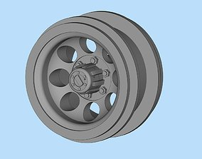Printable car rims 8 Hole Toyota Hilux Chassis