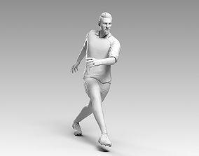 3D asset Footballer 03 Rigged PBR