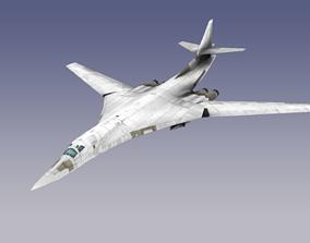 3D asset realtime Tupolev Tu-160 Blackjack