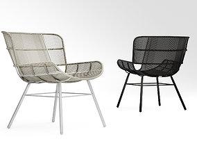 3D model Coco Republic Amalfi outdoor lounge chair