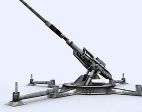 game-ready 3DRT - Sci-Fi Forces - Artillery Gun 1