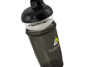 Protein Shaker Mixer - High Detailed 3D model