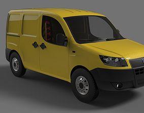Fiat Doblo 3D model VR / AR ready