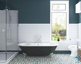 sink toilet Bathroom 3D model