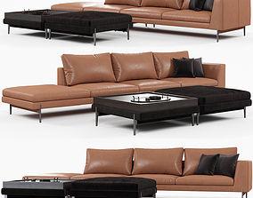 luxury 3D Ditreitalia Kim sofa