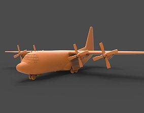C-130 Hercules 3D printable model