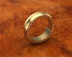 3D print model David yurman streamline ring wedding 11 1