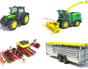 3D model Farm Collection 8
