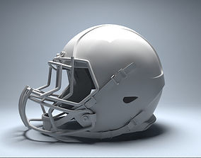 3D football helmet competition