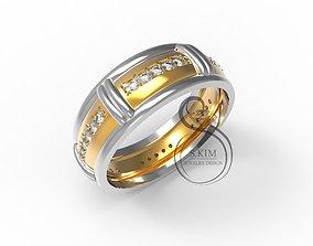 printable printjewel Wedding ring 3D printable model