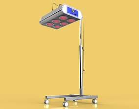 MEDICAL INFRARED PHYSIOTHERAPY LAMP 3D model