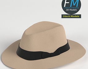Panama hat 3D
