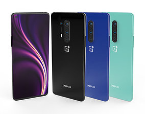 OnePlus 8-8 Pro All colors 3D asset