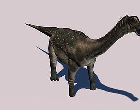 3D Antarctosaurus Dinosaur