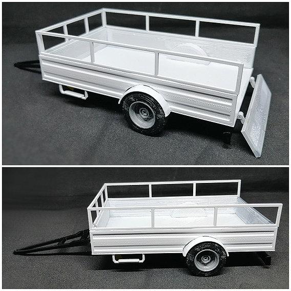 Trailer 3D print model