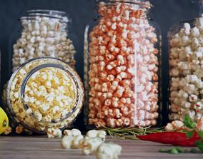3D model Popcorn Jars