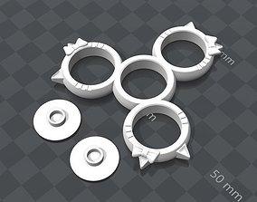 Hello Kitty Fidget Spinner 3D print model