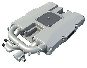 3D Engine Supercharger
