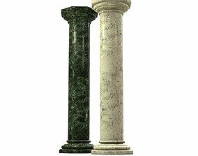 Marble Column 3D