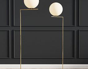 3D Flos Lights Family Michael Anastassiades Floor Lamp