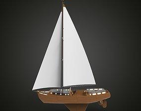 Sail Yacht 3D model