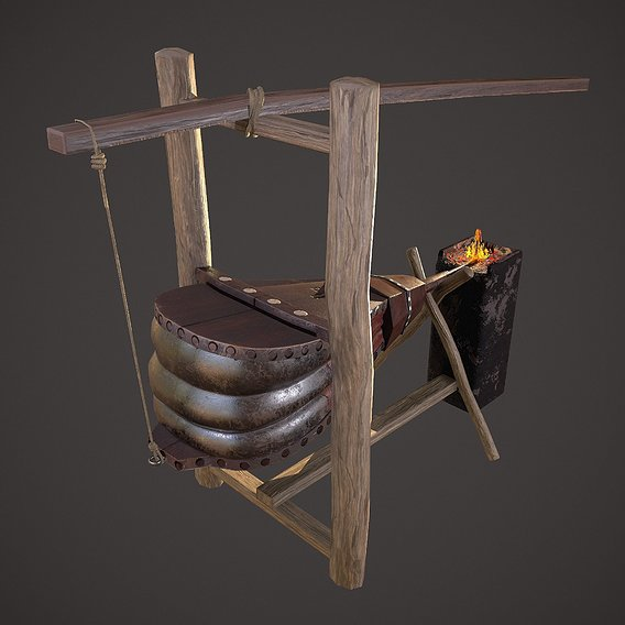 Medieval Bellows