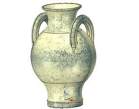 amphora greek cup vessel vase v12 for 3d print and cnc
