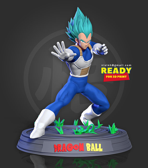 Vegeta - Ready to fight