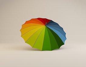 3D umbrella exterior-public