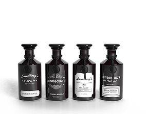 3D model Lundborg Perfume Bottles