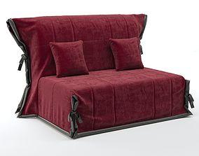 3D flora sofa