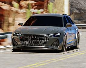 3D 2020 Audi RS 6 Avant